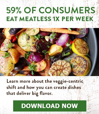 Download our New Report - Veggie-Centric Dishes Grow Up